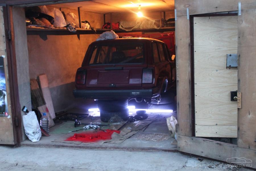 Въезд в гараж в разных вариантах