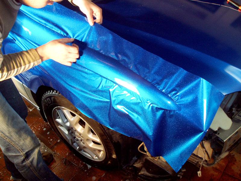 Как клеить виниловую пленку для авто