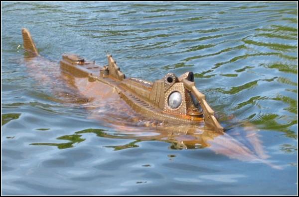 как называется подводная лодка немо