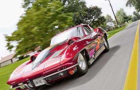 Corvette Rod Sabourys