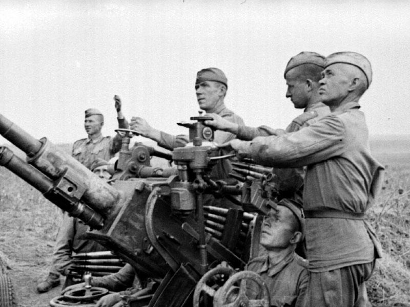 Карта военных действий на советско