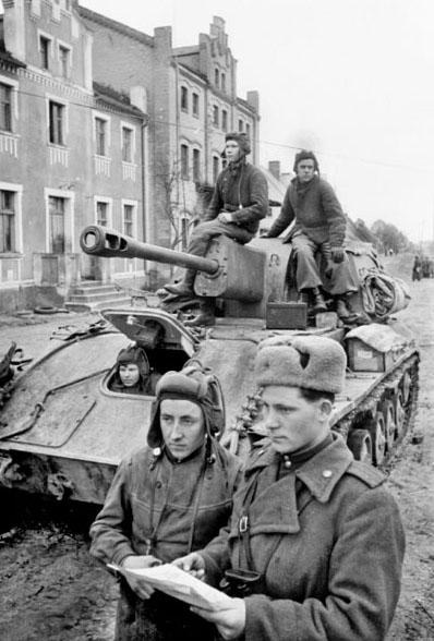 Вторая мировая война события 1945 года