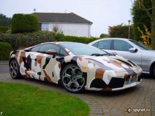 Камуфляжная покраска автомобилей / личный блог AzarNick ...