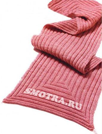 Дата: 16.09.2011 Добавил: admin_admin.  Вязаный шарф с бусинками вязаная модель.
